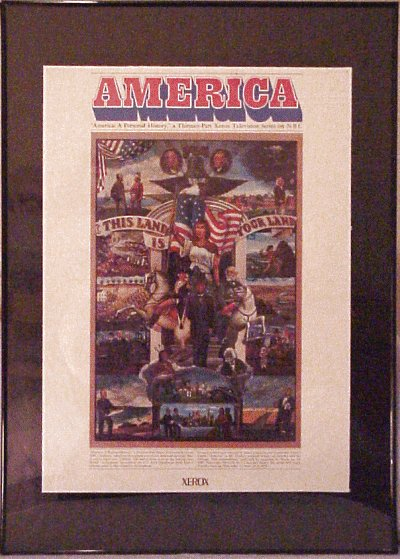 Alistair Cooke's America poster