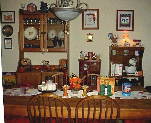 Autumn dining room
