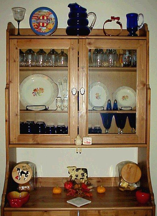 Autumn china cabinet