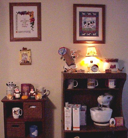 Autumn shelves