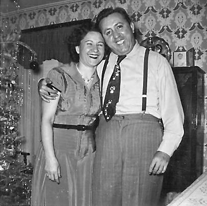 Mom and Dad in 1952