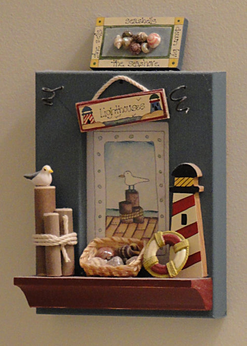 Bathroom Shadow Box