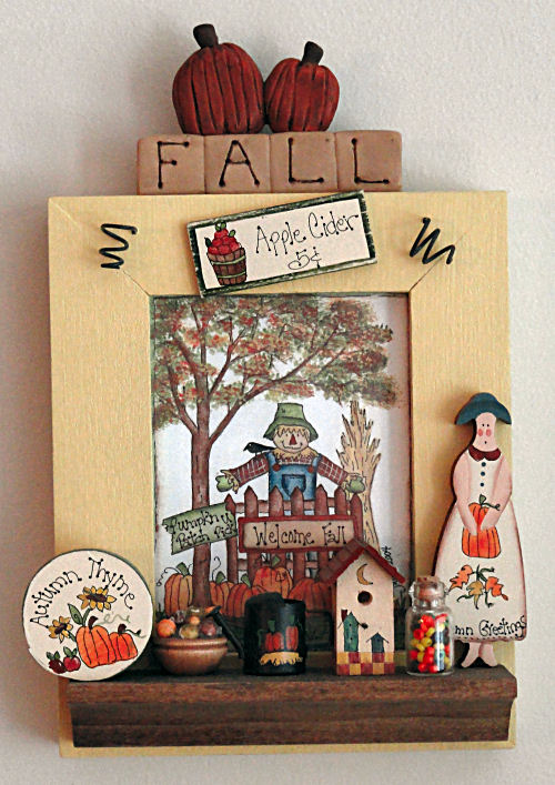 Fall Shadow Box