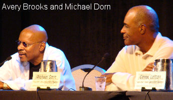 Avery Brooks and Michael Dorn
