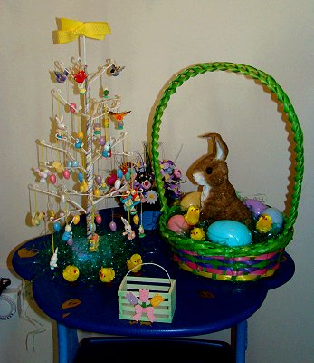 Easter tree and