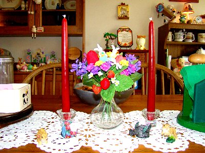 dining table arrangement