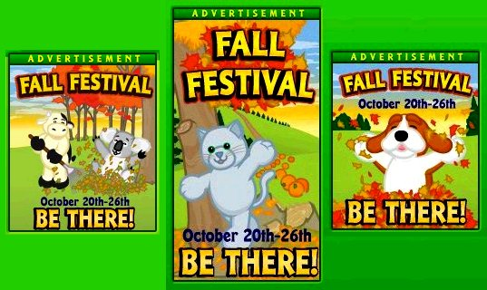 Fall festival posters
