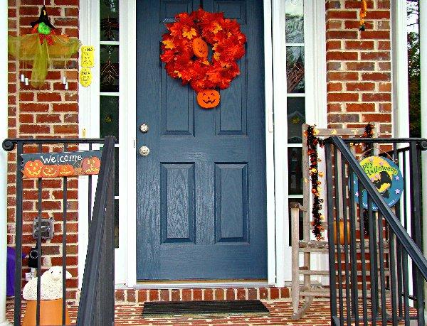 Front door and surrounds