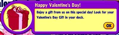 Valentine Gift Announcement
