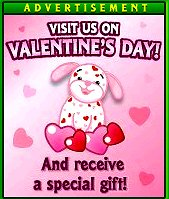 Love Puppy Valentines Day promo