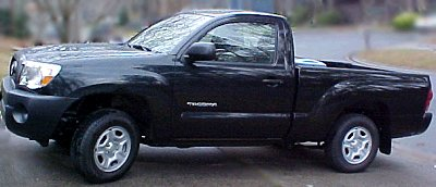 2005 black Tacoma pickup
