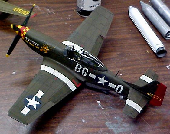 P-51 Mustang Model