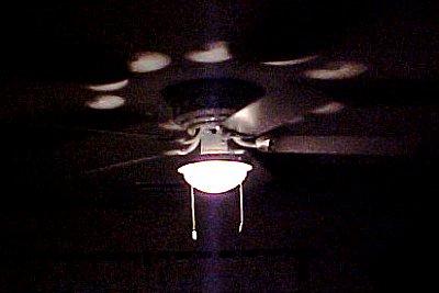 fan in the dark
