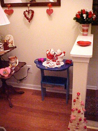 Valentine foyer