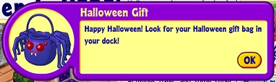 Webkinz Halloween gift announcement