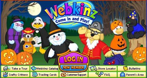Webkinz Halloween cover