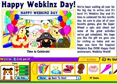 Webkinz Day 1
