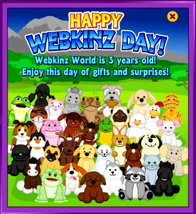 Webkinz Day 3