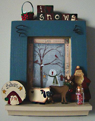Country Pickins Christmas display